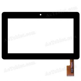 XZQ88-1FPC(XXP) Digitizer Glass Touch Screen Replacement for 7 Inch MID Tablet PC