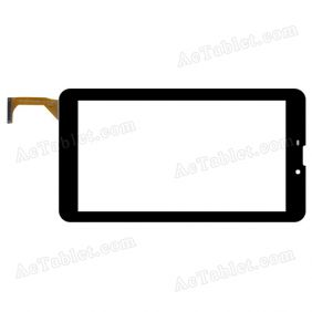 YCG-C7.0-0148B-02-F-01 FHX Digitizer Glass Touch Screen Replacement for 7 Inch MID Tablet PC