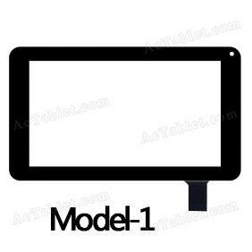 HS1261 Digitizer Glass Touch Screen Replacement for 7 Inch MID Tablet PC