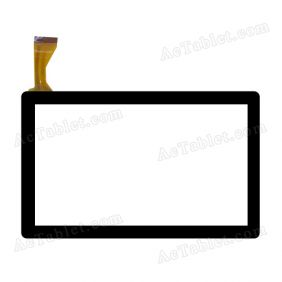 JQ7037FP-05 Digitizer Glass Touch Screen Replacement for 7 Inch MID Tablet PC