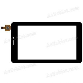 YJ780FPC-V0 Digitizer Glass Touch Screen Replacement for 7 Inch MID Tablet PC