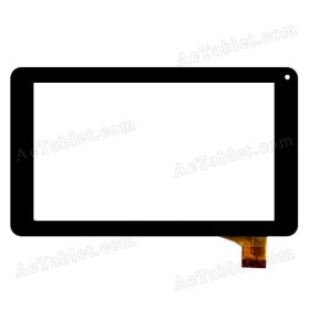 FHF70075 Digitizer Glass Touch Screen Replacement for 7 Inch MID Tablet PC