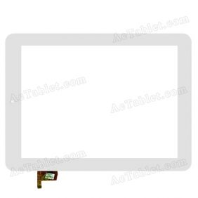 RAYSENS RS9F197PD_V1.1 Digitizer Glass Touch Screen Replacement for 9.7 Inch Tablet PC