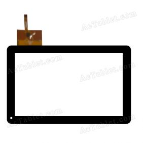 QSD E- C10052-01 Digitizer Glass Touch Screen Replacement for 10.1 Inch MID Tablet PC