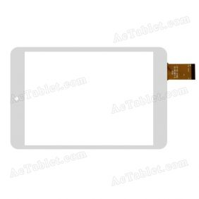 QSD E-C8036-01 Digitizer Glass Touch Screen Replacement for 7.9 Inch MID Tablet PC