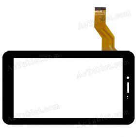 NJG070099JEG0B-V0 Digitizer Glass Touch Screen Replacement for 7 Inch MID Tablet PC