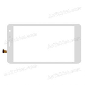DH-0744A1-PG-FPC102-V2.0 Digitizer Glass Touch Screen Replacement for 7 Inch MID Tablet PC