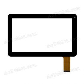 YCFO386-A Digitizer Glass Touch Screen Replacement for 10.1 Inch MID Tablet PC