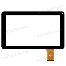 FM901801KB Digitizer Glass Touch Screen Replacement for 9 Inch MID Tablet PC