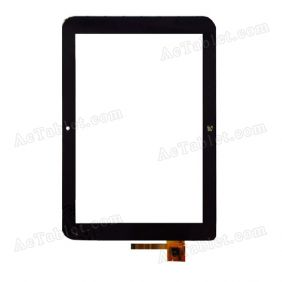 702-10122-02 Digitizer Glass Touch Screen Replacement for 10.1 Inch MID Tablet PC