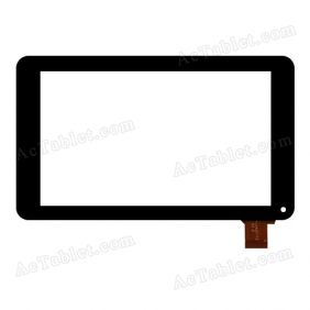 LHJ0172 V1.0 Digitizer Glass Touch Screen Replacement for 7 Inch MID Tablet PC