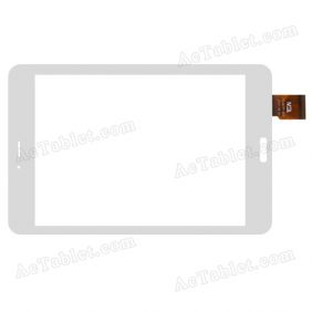 TCLHCTP-363 Digitizer Glass Touch Screen Replacement for 7.9 Inch MID Tablet PC