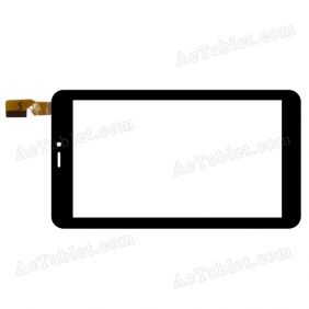 CN008FPC-V0 CYX Digitizer Glass Touch Screen Replacement for 7 Inch MID Tablet PC