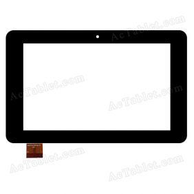 NJG070077AEG0B-V1 Digitizer Glass Touch Screen Replacement for 7 Inch MID Tablet PC