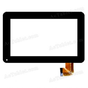 RP-257A-7.0-FPC-01 Digitizer Glass Touch Screen Replacement for 7 Inch MID Tablet PC