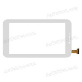 FX-C7.0-0066A-F-01 Digitizer Glass Touch Screen Replacement for 7 Inch MID Tablet PC