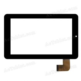 SLC07046AGLB Digitizer Glass Touch Screen Replacement for 7 Inch MID Tablet PC