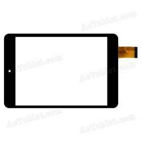 LHJ0220-F78A1 V1.0 Digitizer Glass Touch Screen Replacement for 7.9 Inch MID Tablet PC