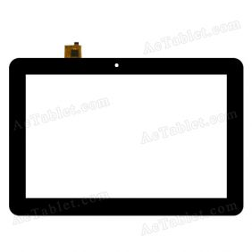 WGJ10103-V1 Digitizer Glass Touch Screen Replacement for 10.1 Inch MID Tablet PC