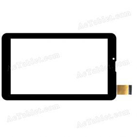 XCL-S70025B-FPC1.0 Digitizer Glass Touch Screen Replacement for 7 Inch MID Tablet PC