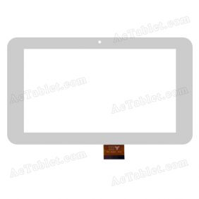 TPC-50201 Digitizer Glass Touch Screen Replacement for 7 Inch MID Tablet PC