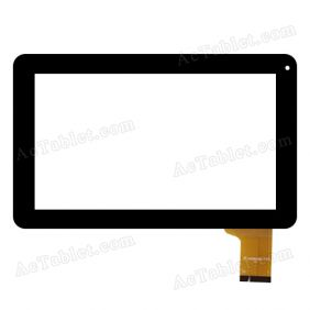 UK090256-FPC FHX Digitizer Glass Touch Screen Replacement for 9 Inch MID Tablet PC