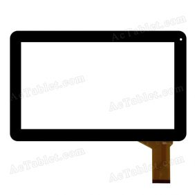 CTP101008 FPC-1.0 Digitizer Glass Touch Screen Replacement for 10.1 Inch MID Tablet PC