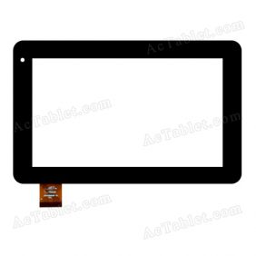 PB70DR8087-R1 Digitizer Glass Touch Screen Replacement for 7 Inch MID Tablet PC