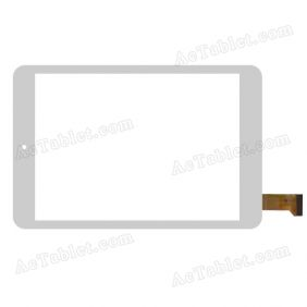 QSD 701-C8058-02 Digitizer Glass Touch Screen Replacement for 7.9 Inch MID Tablet PC