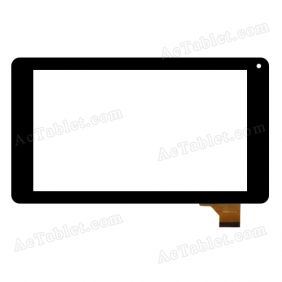 WJ615-V1.0 Digitizer Glass Touch Screen Replacement for 7 Inch MID Tablet PC