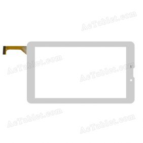 YTG-070066-F1 Digitizer Glass Touch Screen Replacement for 7 Inch MID Tablet PC