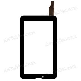 C185107A1-FPC813DR Digitizer Glass Touch Screen Replacement for 7 Inch MID Tablet PC