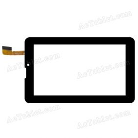 PG70301A0 Digitizer Glass Touch Screen Replacement for 7 Inch MID Tablet PC