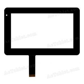 300-N3400B-A00-VER1.1 Digitizer Glass Touch Screen Replacement for 7 Inch MID Tablet PC