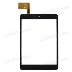 HK80DR2344 Digitizer Glass Touch Screen Replacement for 8 Inch MID Tablet PC