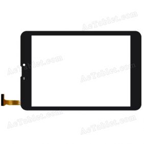 TE789COB-FPC Digitizer Glass Touch Screen Replacement for 8 Inch MID Tablet PC