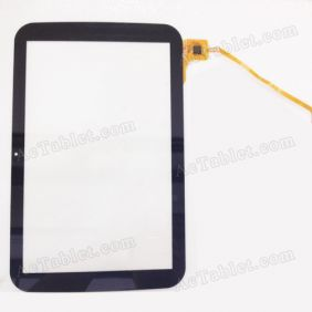 QSD 702-10061-02 Digitizer Glass Touch Screen Replacement for 10.1 Inch MID Tablet PC