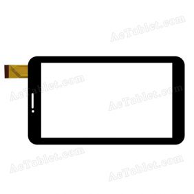 JQFP07034A Digitizer Glass Touch Screen Replacement for 7 Inch MID Tablet PC