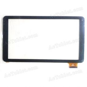 HK10DR2496-V02 Digitizer Glass Touch Screen Replacement for 10.1 Inch MID Tablet PC