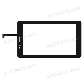 C109188A1-DRFPC208T-V4.0 Digitizer Glass Touch Screen Replacement for 7 Inch MID Tablet PC