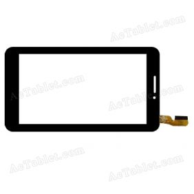 GT70733-V4 FHX Digitizer Glass Touch Screen Replacement for 7 Inch MID Tablet PC