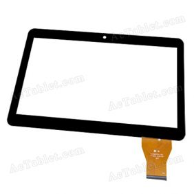 YJ182FPC-V0 Digitizer Glass Touch Screen Replacement for 10.1 Inch MID Tablet PC