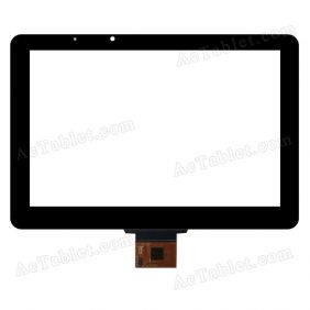 FPC101-0512A Digitizer Glass Touch Screen Replacement for 10.1 Inch MID Tablet PC