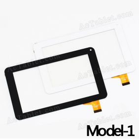 YJ86VFPC-V2 Digitizer Glass Touch Screen Replacement for 7 Inch MID Tablet PC