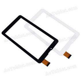 FX-706-02 Digitizer Glass Touch Screen Replacement for 7 Inch MID Tablet PC