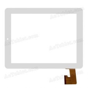 LKW0165 V1.0A1 Tx2 Digitizer Glass Touch Screen Replacement for 8 Inch MID Tablet PC