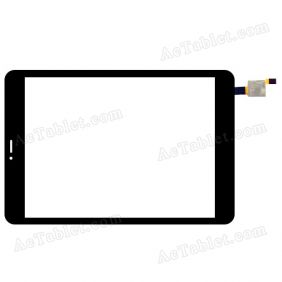 XCL-S78012B-FPC1.0 Digitizer Glass Touch Screen Replacement for 7.9 Inch MID Tablet PC