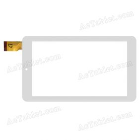 YLD-CEG7271-FPC-A1 Digitizer Glass Touch Screen Replacement for 7 Inch MID Tablet PC