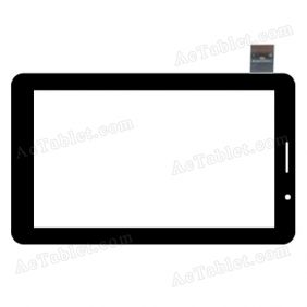 C7000223FPVB TRX Digitizer Glass Touch Screen Replacement for 7 Inch MID Tablet PC