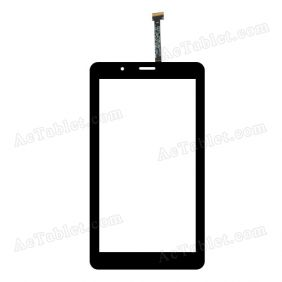 C104186A1-DRFPC224T-V1.0 Digitizer Glass Touch Screen Replacement for 7 Inch MID Tablet PC